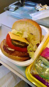 大韓航空子ども向けハンバーガー