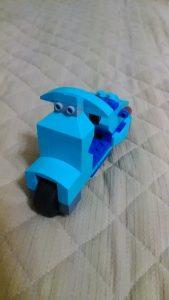 レゴでバイク