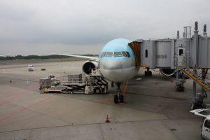 飛行機マナー