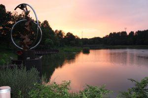 夕焼けの公園