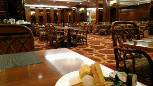 パンリンホテル朝食レストラン
