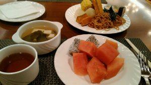 パンリンホテル朝食